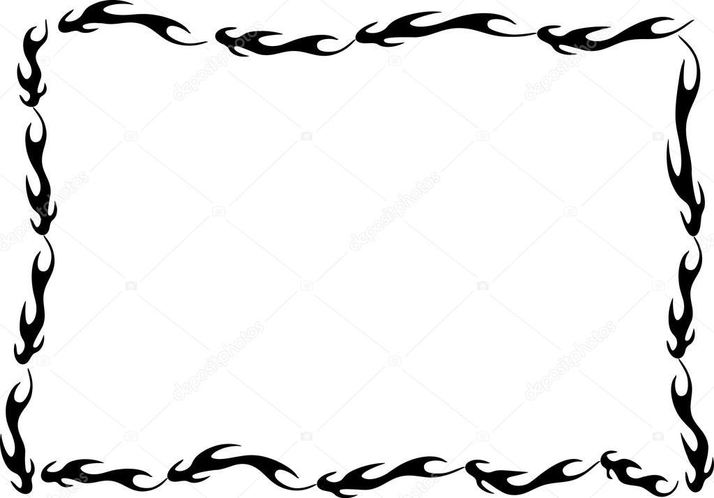 Cadre Bordure dessin de cadre bordure — photographie wenpei © #126220526