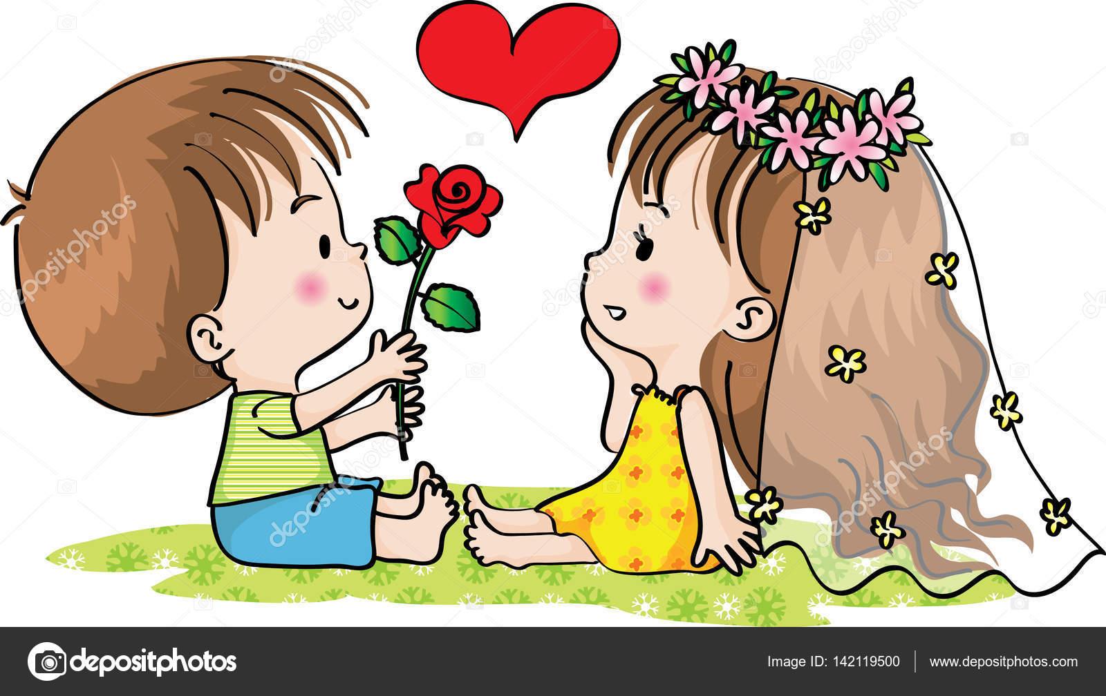 wie verlieben sich mädchen