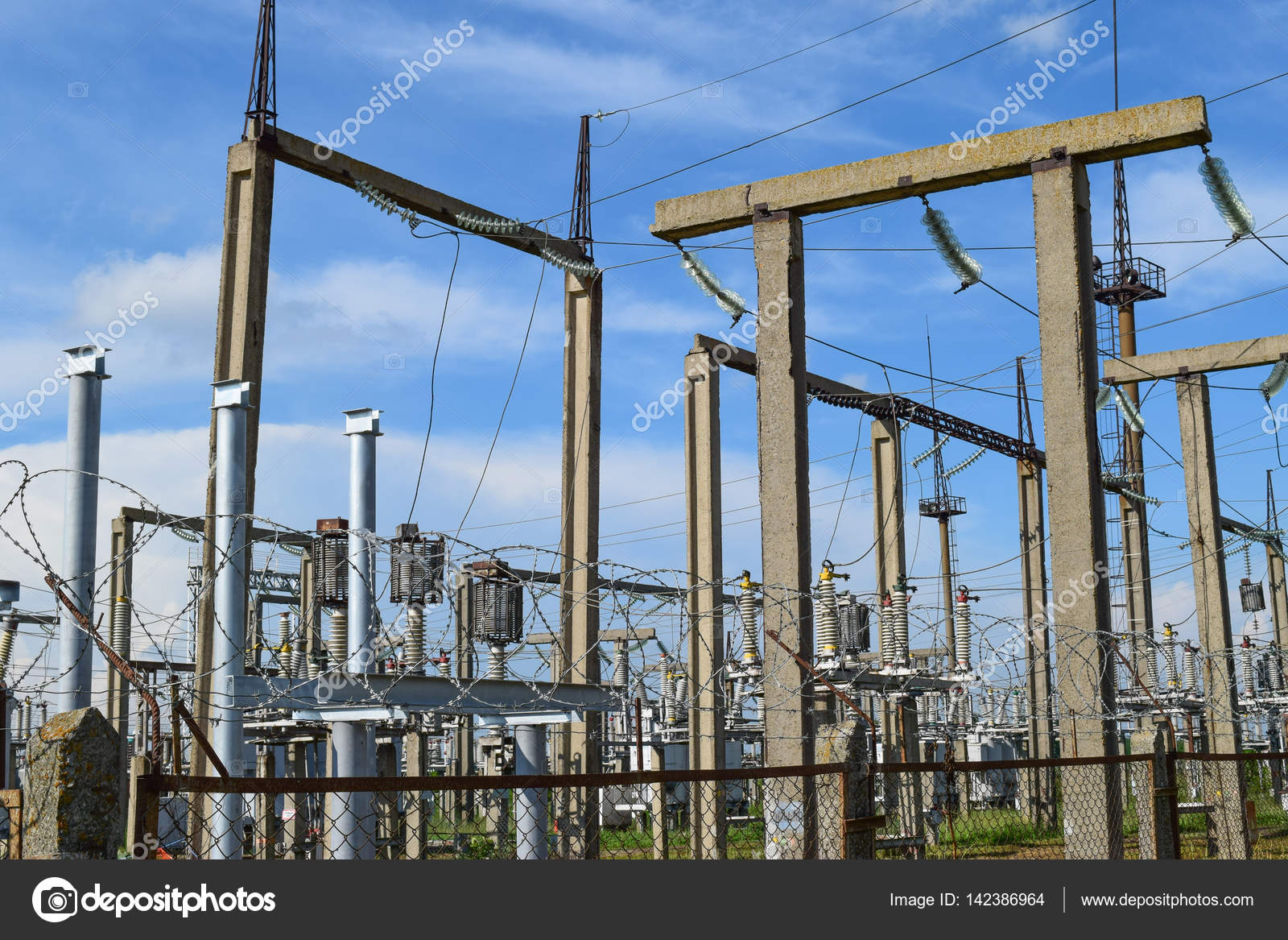 Electric Substation Power Transmission Equipment Stobo Wires
