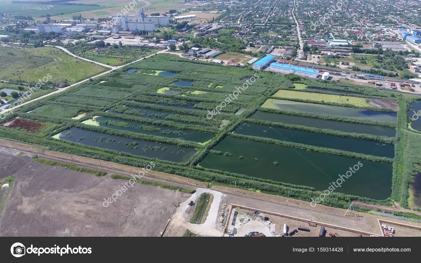 スラビャンカのクバン川下水処理...