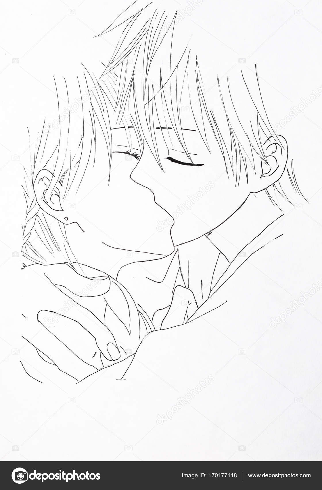 Artwork Anime Wallpaper Sketch