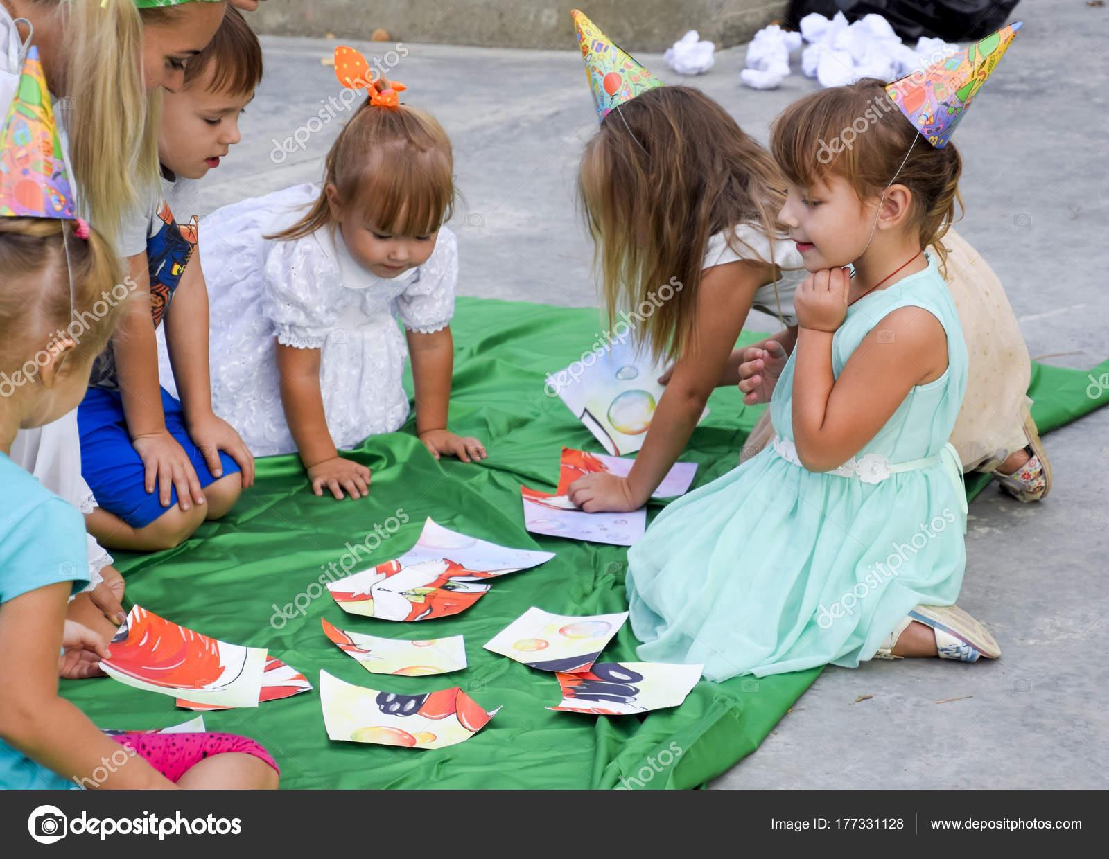Juegos De Ocio Para Ninos Ocio De Los Ninos En Edad Preescolar