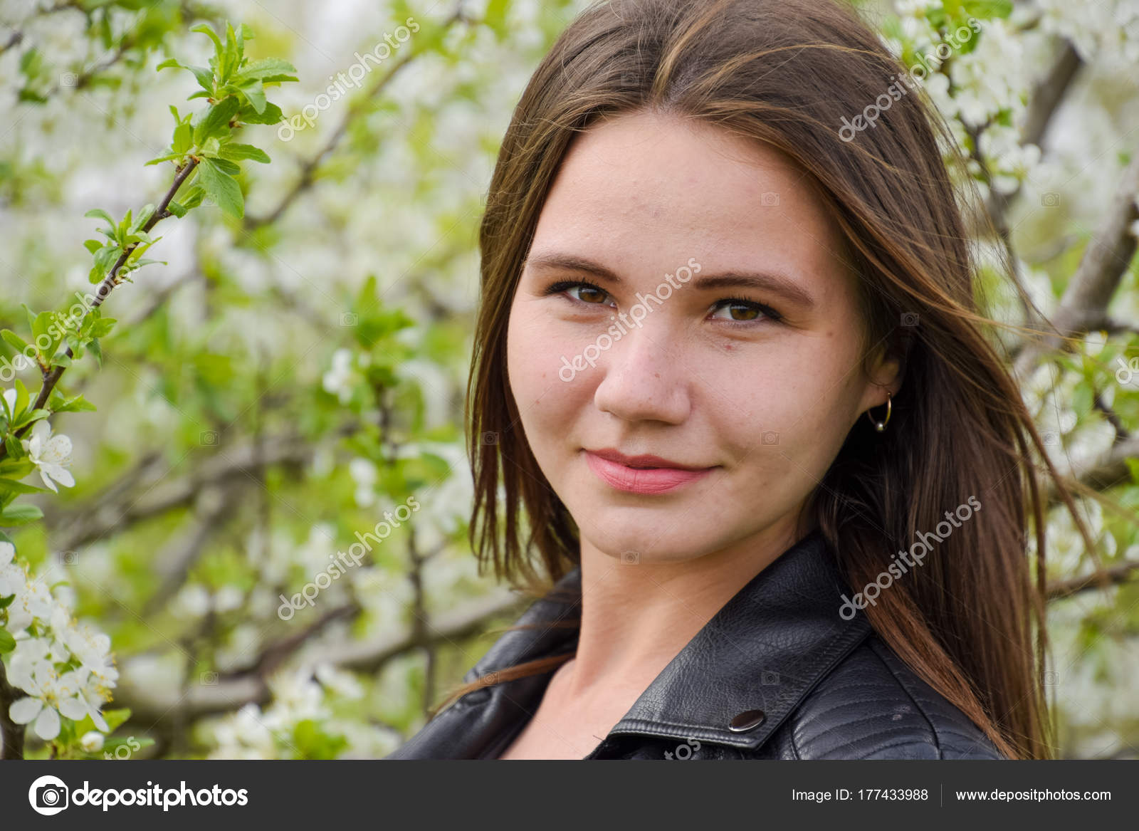 Прекрасная молодая девушка