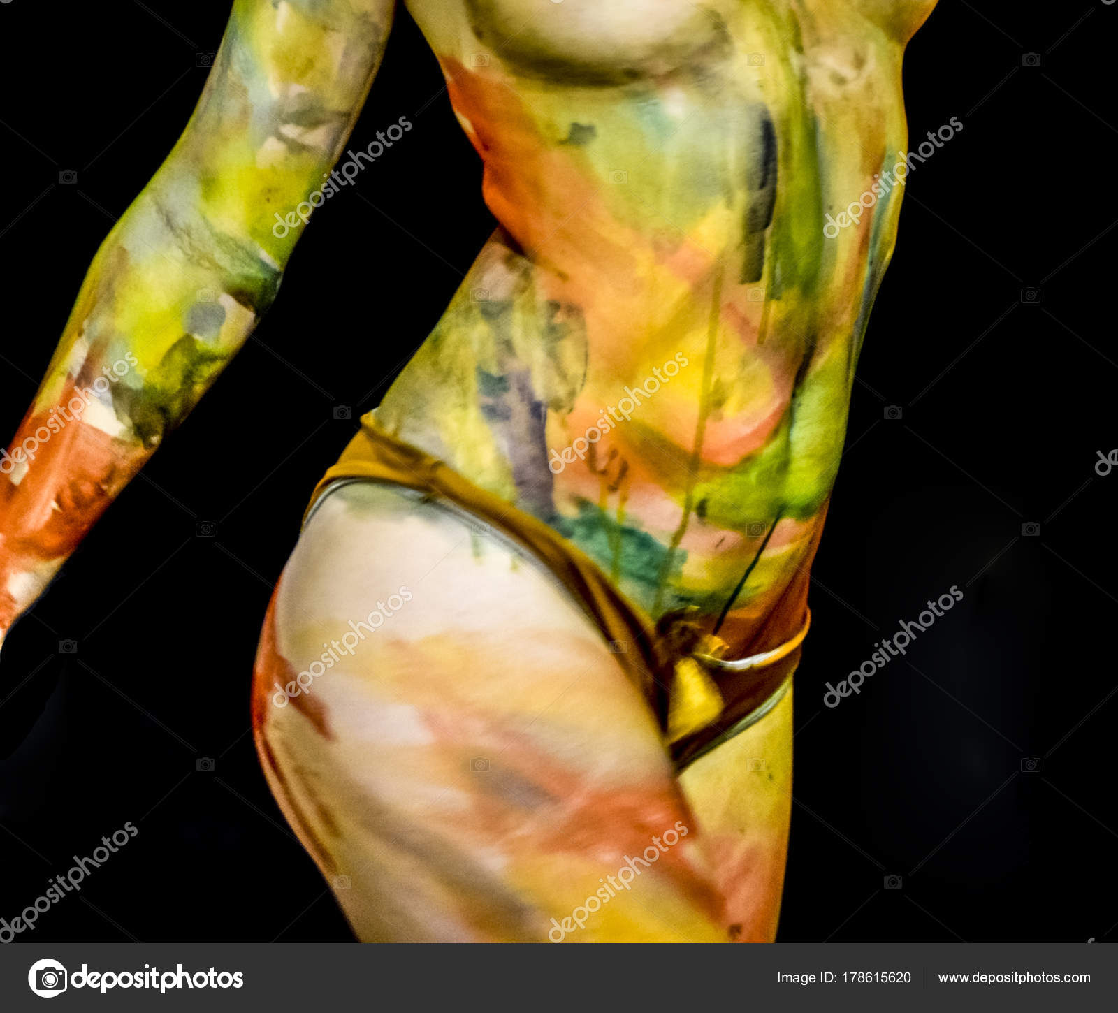 Painted Body Art Pics
