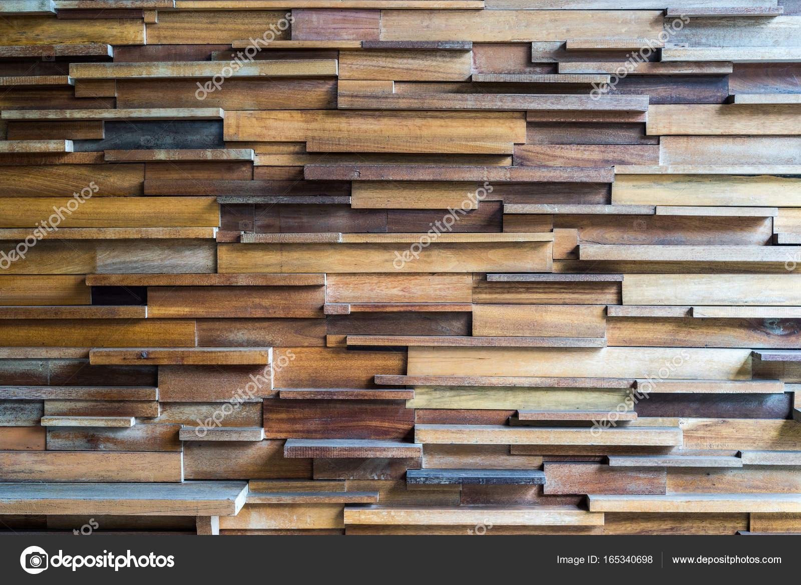 Wzór I Tekstura Dekoracyjne Drewniane Deski Na ścianie