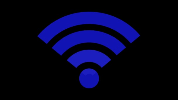 Drahtlosnetzwerk-Symbol. WLAN-Symbol