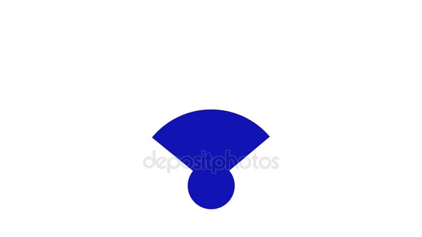 Drahtlosnetzwerk-Symbol. Wi-Fi-symbol