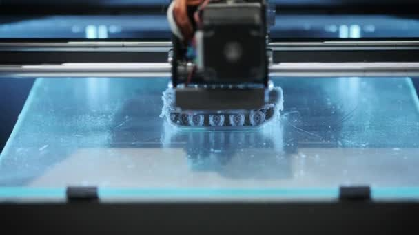 3D Drucker druckt Detail innovative Teil