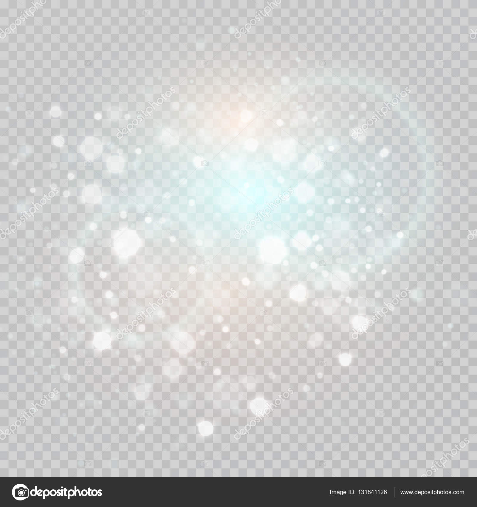 Background image transparency - Bokeh Light Gray Sparkles On Transparency Background Glowing Particles Element For Special Effects Vector Illustration Eps10 Vector By Vik_y