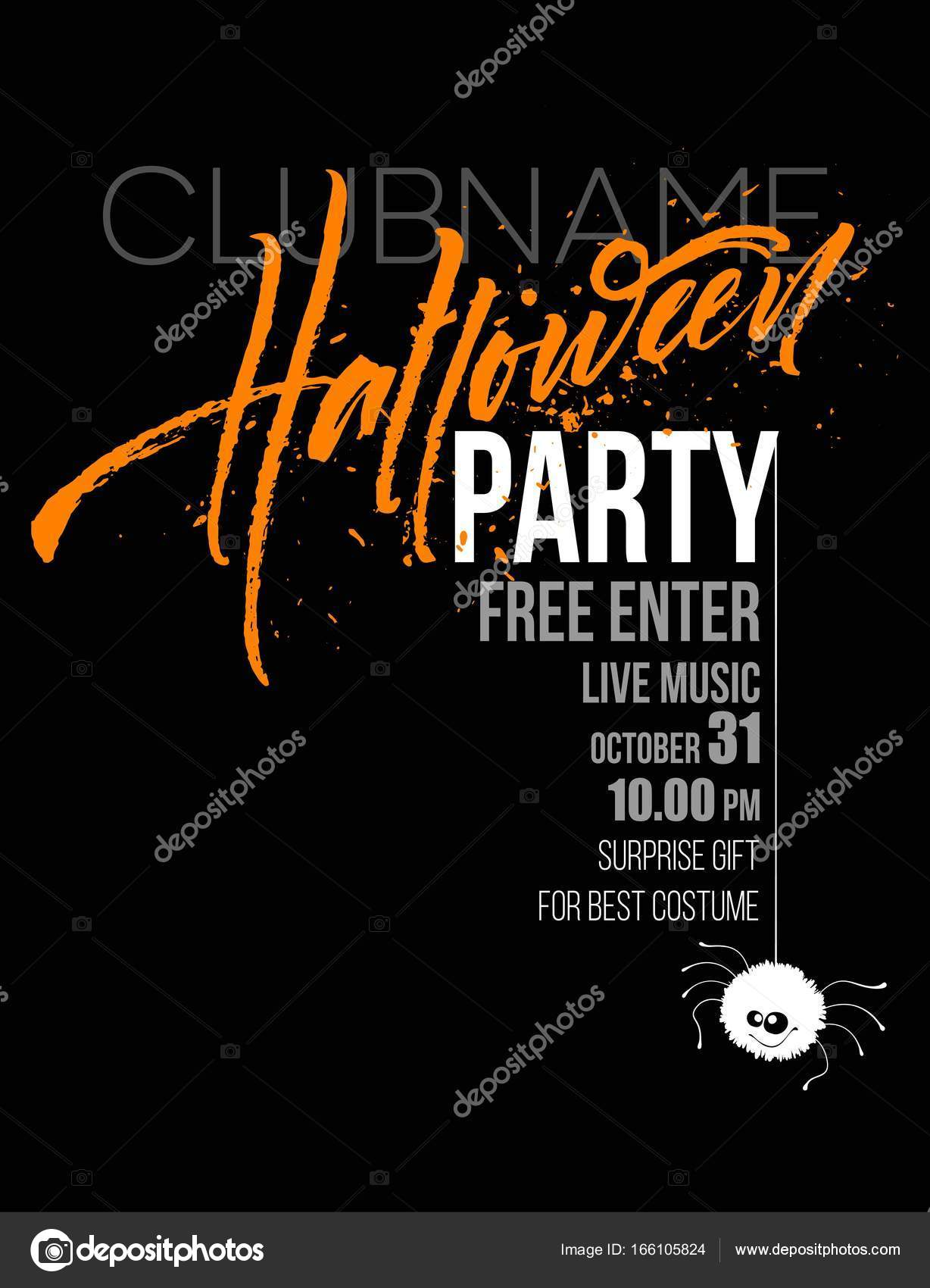 Happy halloween lettering holiday calligraphy for banner poster happy halloween lettering holiday calligraphy for banner poster greeting card party invitation vector illustration eps10 vector by viky stopboris Gallery