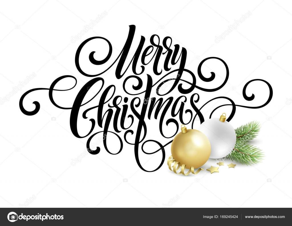 Frohe Weihnachten Handschrift Skript Schriftzug. Gruß Hintergrund ...