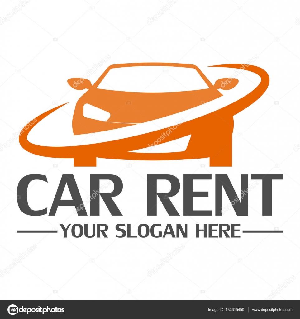 mod le de conception de logo de location de voiture image vectorielle helloweenn 133315450. Black Bedroom Furniture Sets. Home Design Ideas