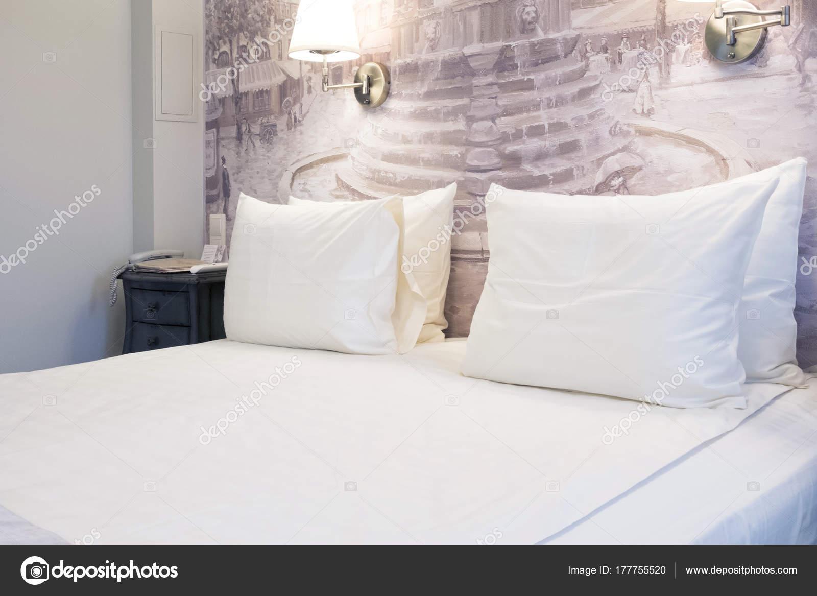 Luxe Moderne Japanse Stijl Slaapkamer Interieur Van Een Hotel ...