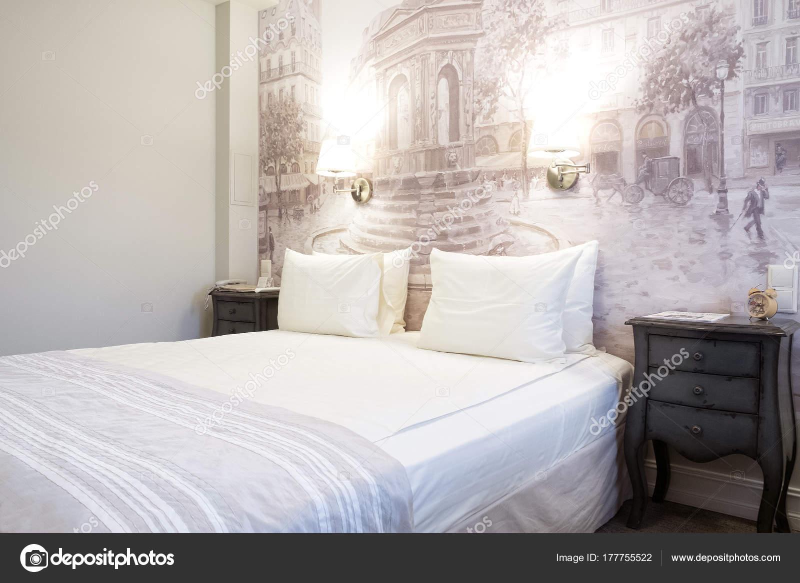 Luxus Modernen Japanischen Stil Schlafzimmer Interieur Aus Einem Hotel  Schlafzimmer U2014 Stockfoto