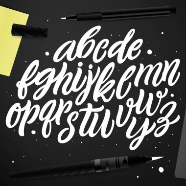 Typographic alphabet for your designs