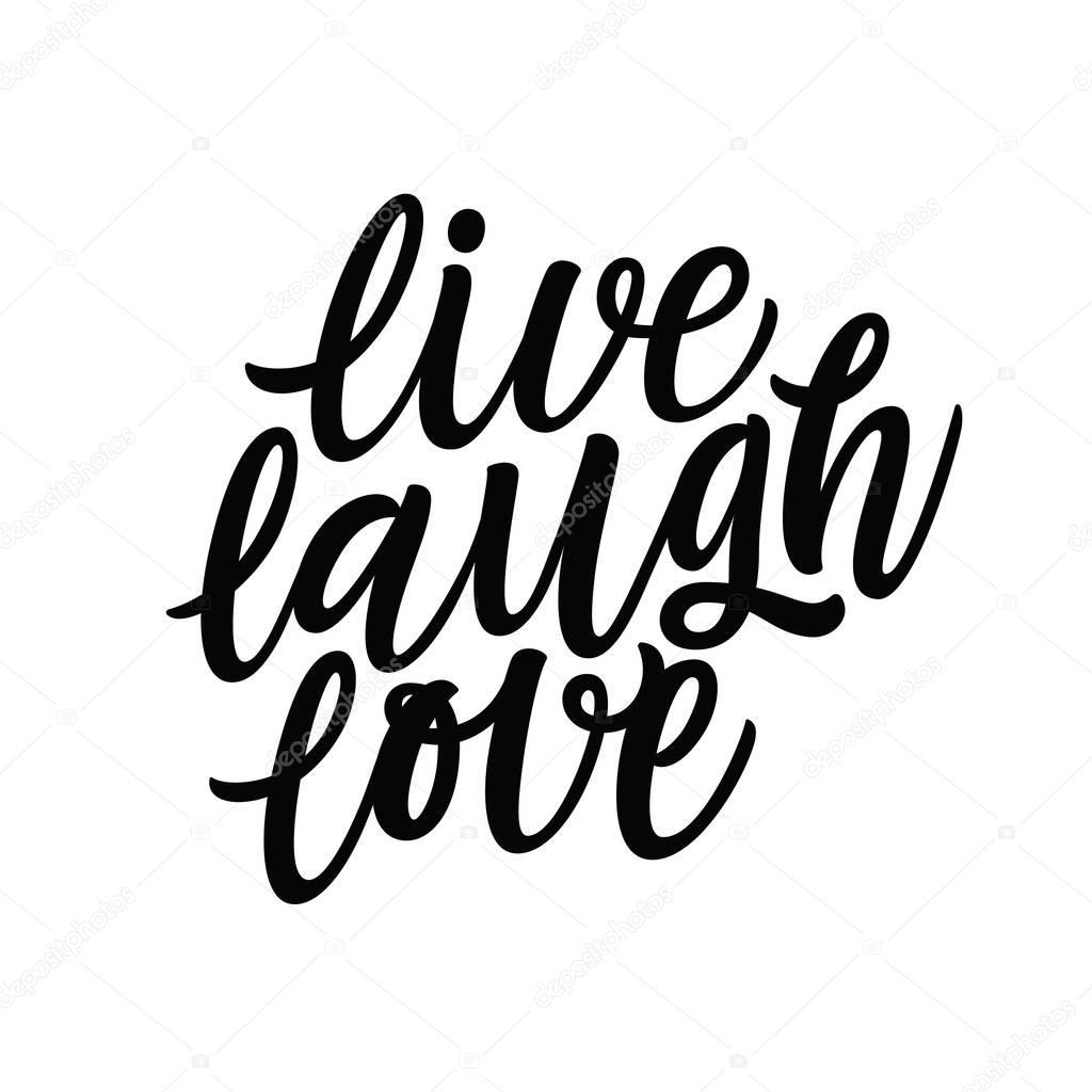 Download Live laugh love designs | Live Laugh Love illustration ...