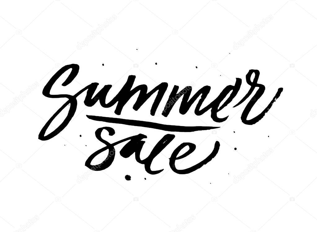 black summer sale sign stock vector verywell 130165036