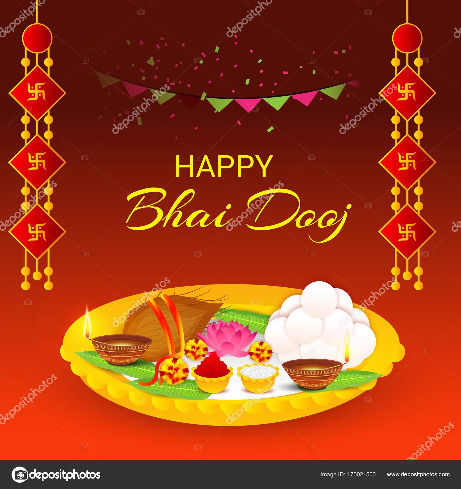 Happy bhai dooj stock vector ssdn 170021500 vector illustration of a background for happy bhai dooj vector by ssdn m4hsunfo