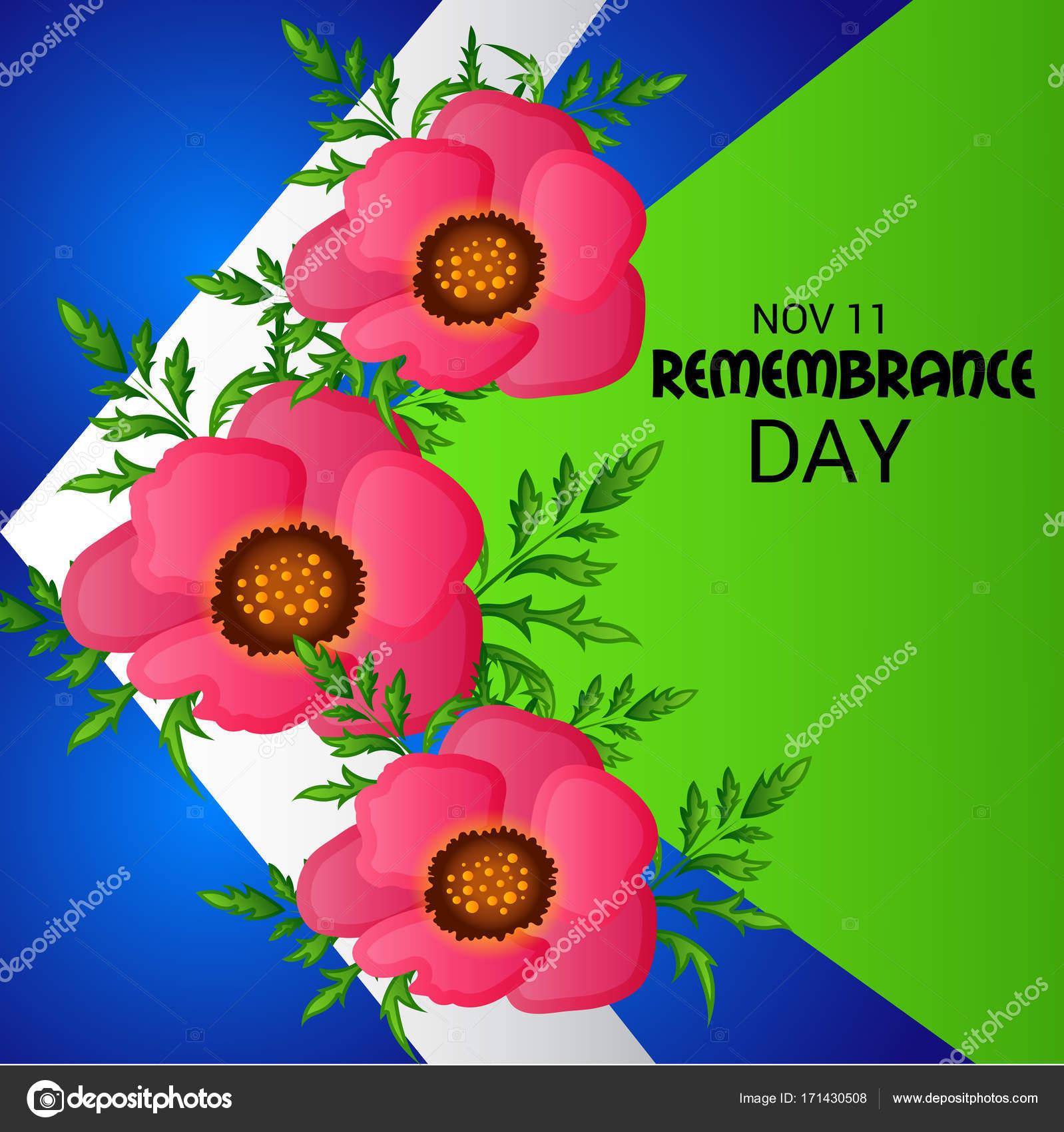 Remembrance Day 11 Nov. — Stock Vector