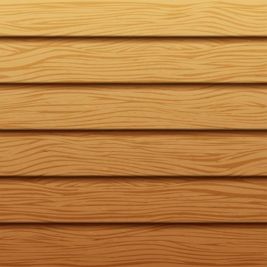 Realistic wood texture. Background of wooden boards. Vector wooden backdrop.
