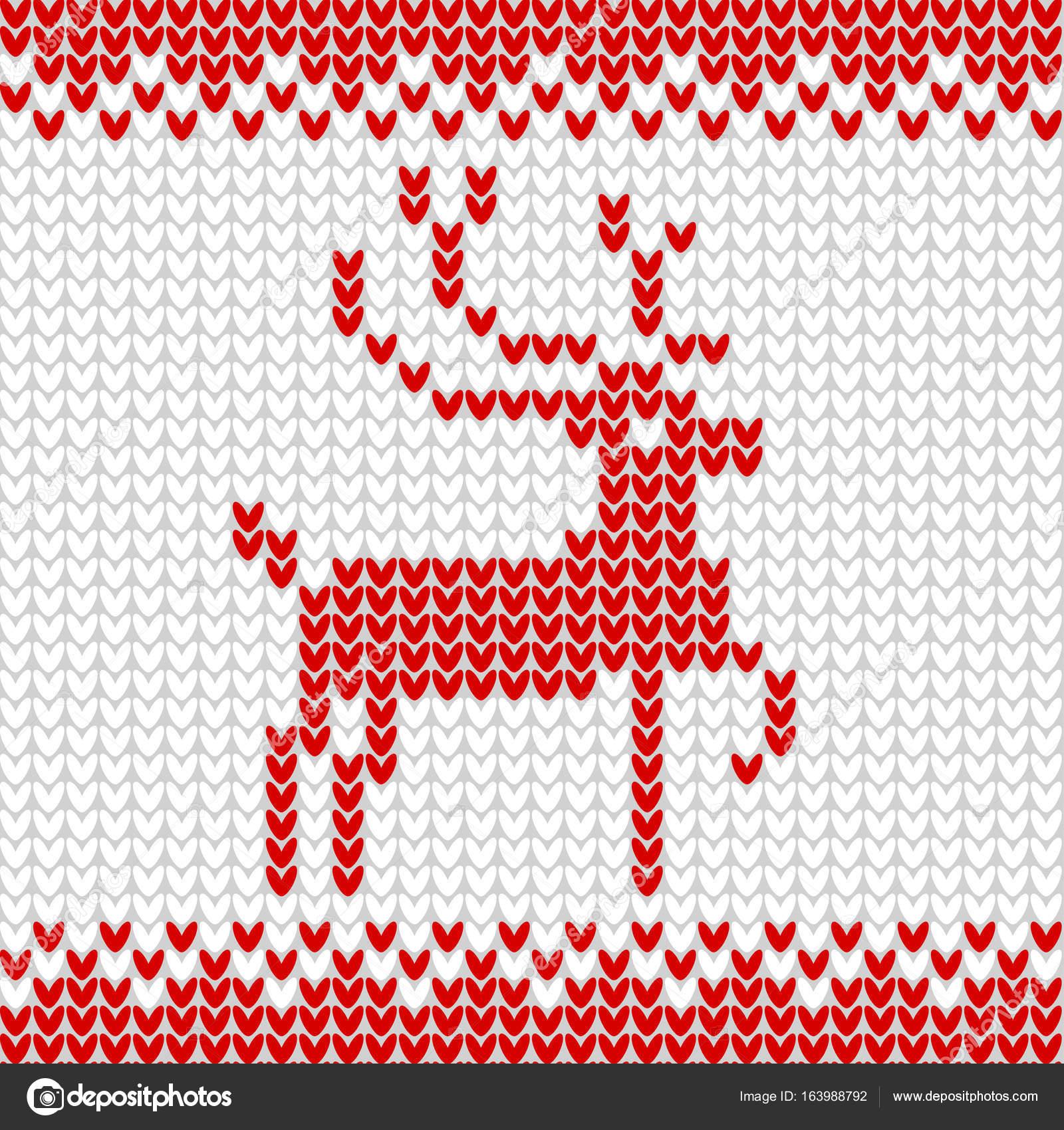 Punto realista de patrones sin fisuras de color blanco — Foto de ...