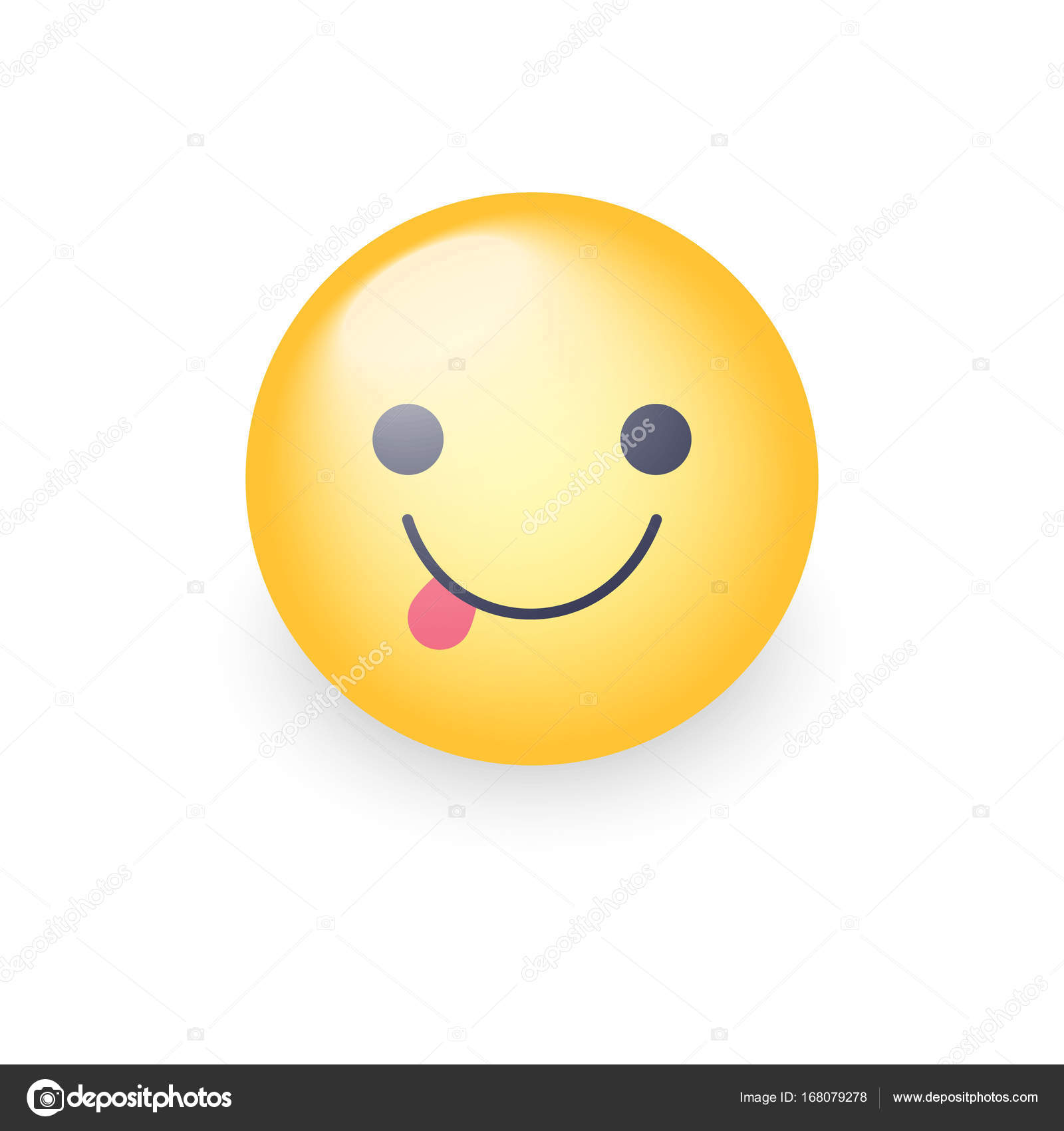 A cartoon emoticon emoji judge character in white wig holding