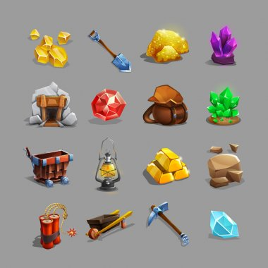 Collection of decoration icons