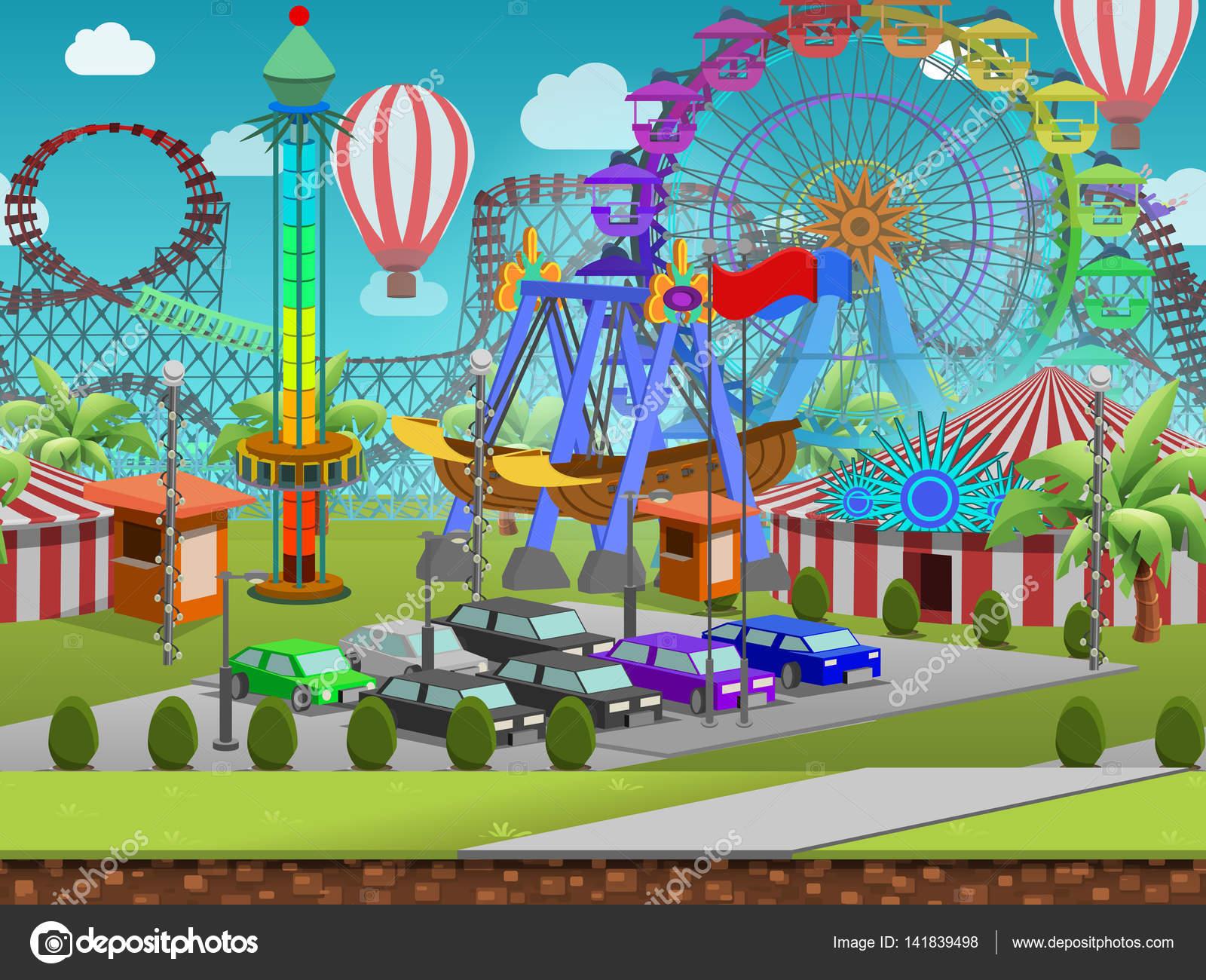 Parque De Atracciones De Dibujos Animados