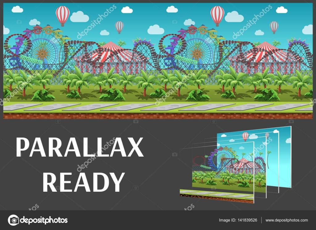 El Parque De Atracciones De Dibujos Animados Ven A Jugar: Parque De Atracciones De Dibujos Animados