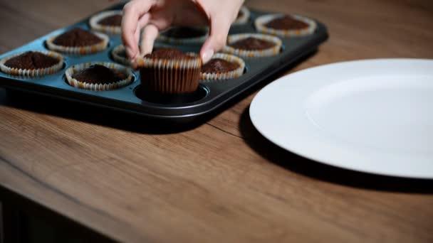 einfache Cupcakes im Backblech.