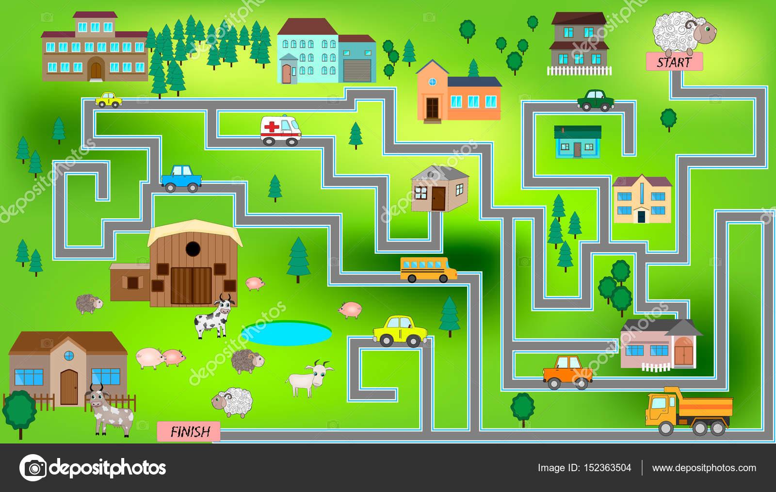Mapa Ciudad Para Niños.Imagenes Mapa Ciudad Dibujo Dibujos Mapa De Patrones Sin