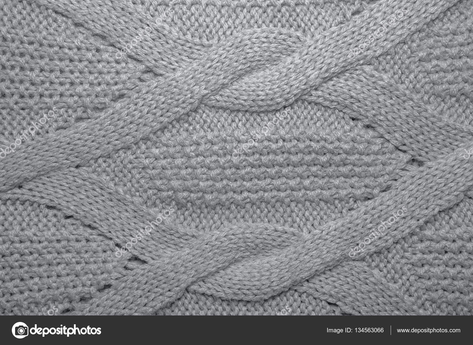 5216187e73cfc Knitted jersey background with a relief pattern. Pink wool sweater texture  close up — Photo by ...