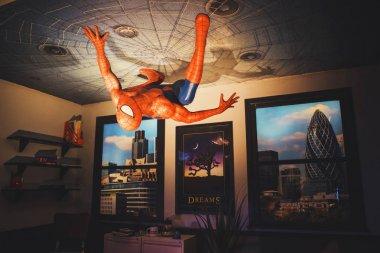 London, United Kingdom - August 24, 2017: Madame Tussauds wax mu
