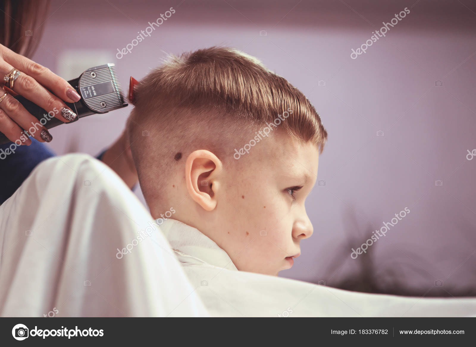 Como hacer cortes de pelo en ninos