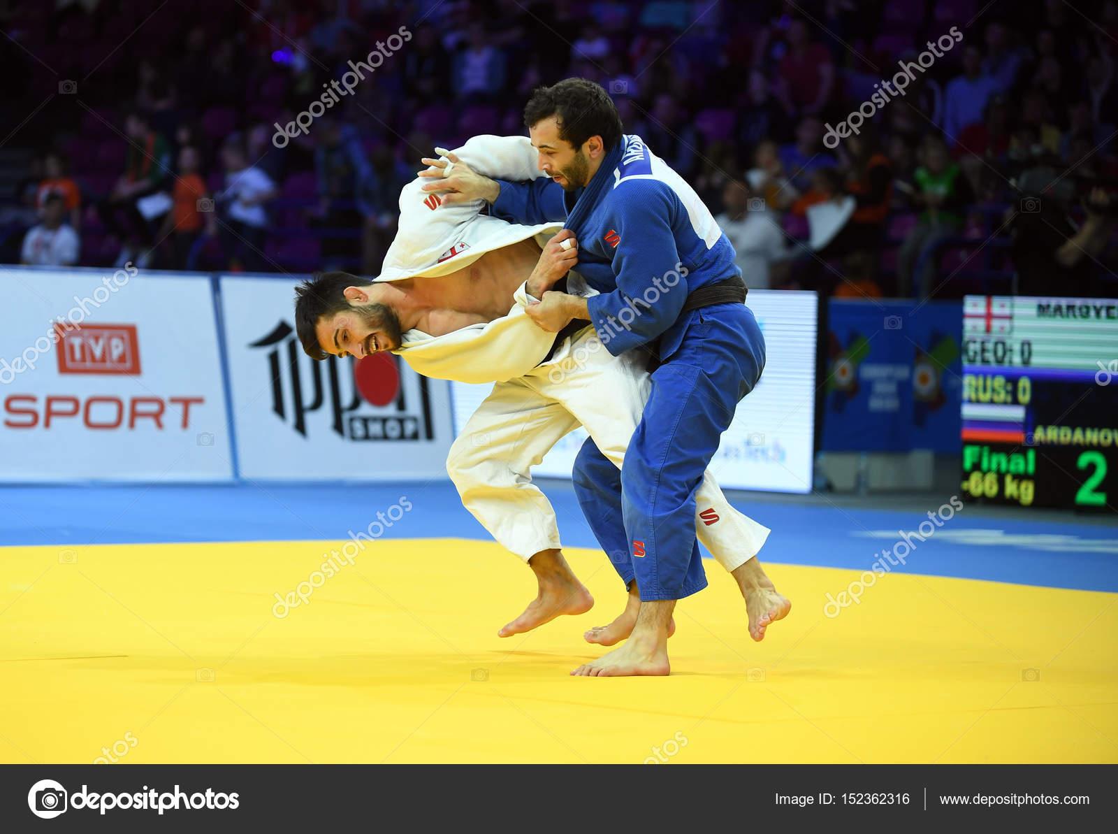 ワルシャワのヨーロッパ柔道選手...