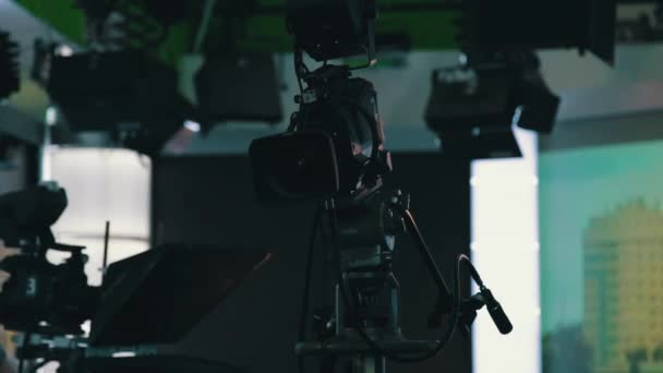 televíziós kamera közelről