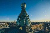 Fotografia La cupola della casa del cantante sulla Nevsky Prospekt