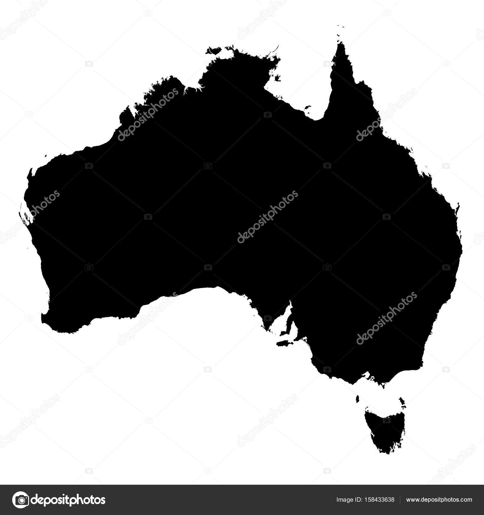 Australia Black Silhouette Map Outline Isolated on White 3D ... on outline map of the uk, outline map of british isles, outline map of oceania, outline map of scandinavia, outline map of northern europe, outline map of eastern europe, outline map of micronesia, outline map of emea, outline map of the americas, outline map of western us, outline map of the pacific rim, outline map of asia, outline map of papua new guinea, outline map of eastern usa,