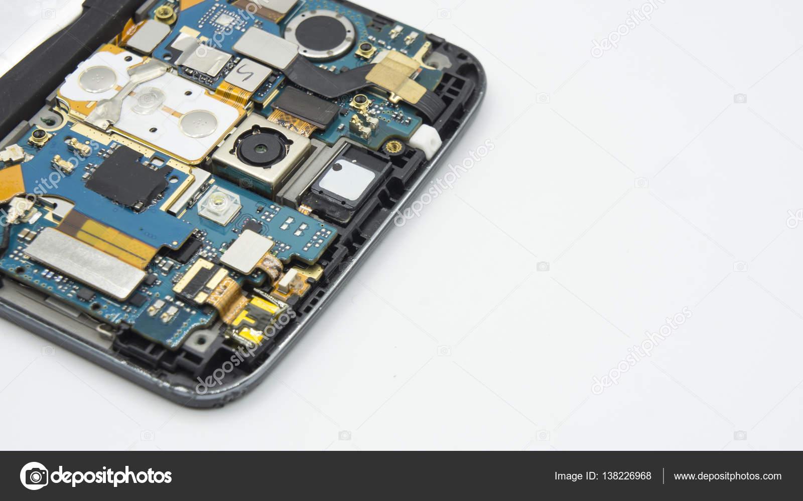 Circuito Aberto : Corrigir danos ic placa de circuito aberto de chave de fenda u2014 stock