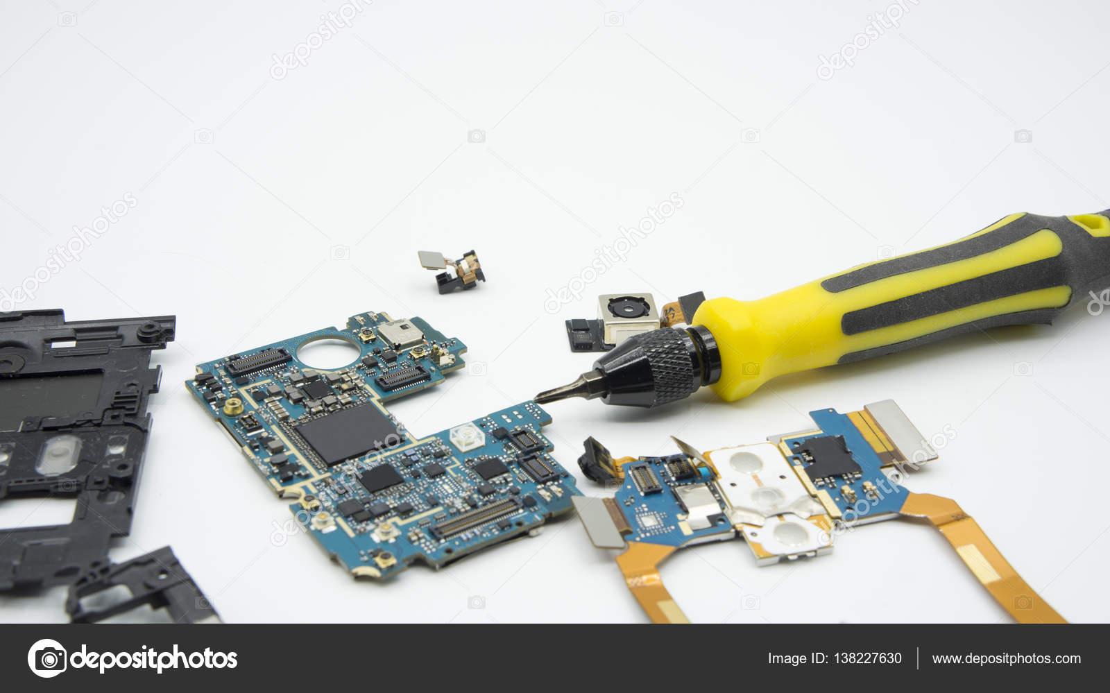 Circuito Aberto : Corrigir danos ic placa de circuito aberto de chave de fenda
