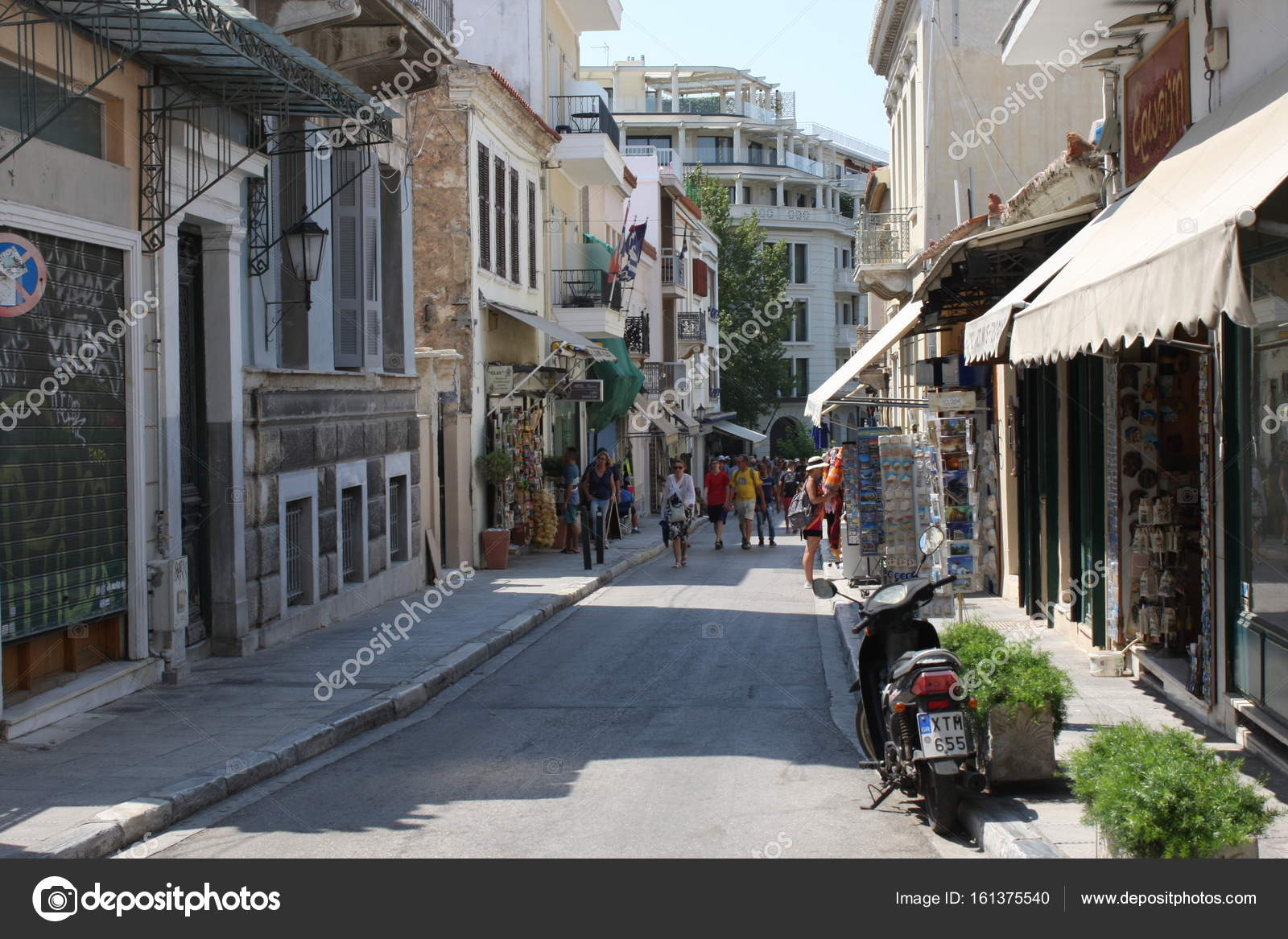 The Plaka is the oldest section of Athens  Area of