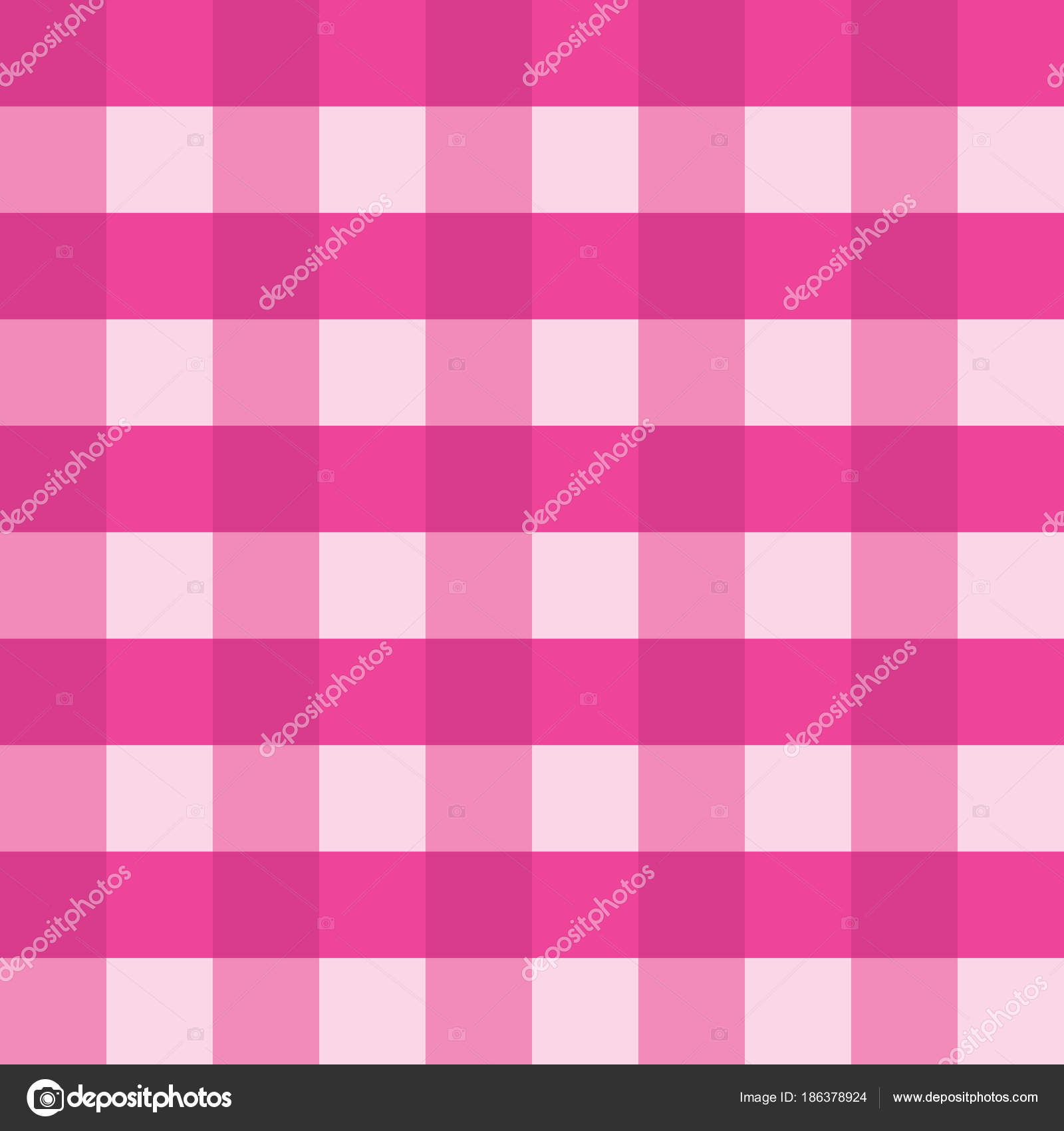 Pink Gingham Seamless Vector Background Pattern Design. Texture From  Rhombus Or Squares For Plaid, Tablecloths, Clothes, Shirts, Dresses, Paper  And Other ...