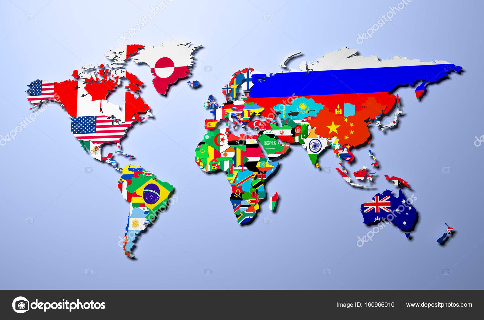 The world map with all states and their flags 3d render stock the world map with all states and their flags 3d render stock photo gumiabroncs Image collections