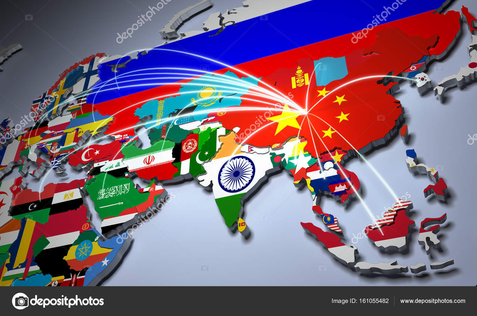 Online shopping in china concept world map 3d rendering stock online shopping in china concept world map 3d rendering stock photo gumiabroncs Gallery