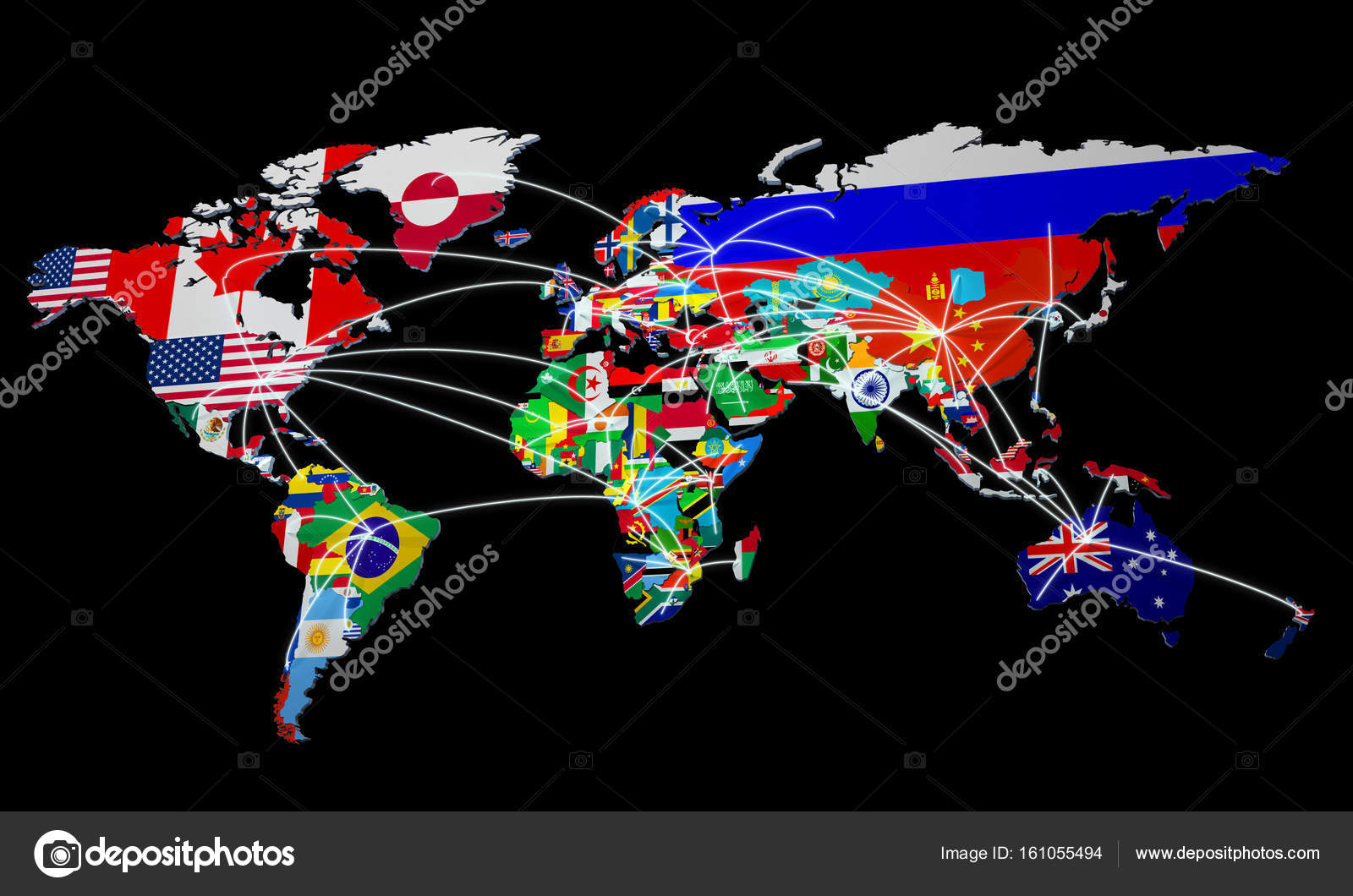 Online shopping in world map 3d rendering on black stock photo online shopping in world map 3d rendering on black stock photo gumiabroncs Gallery