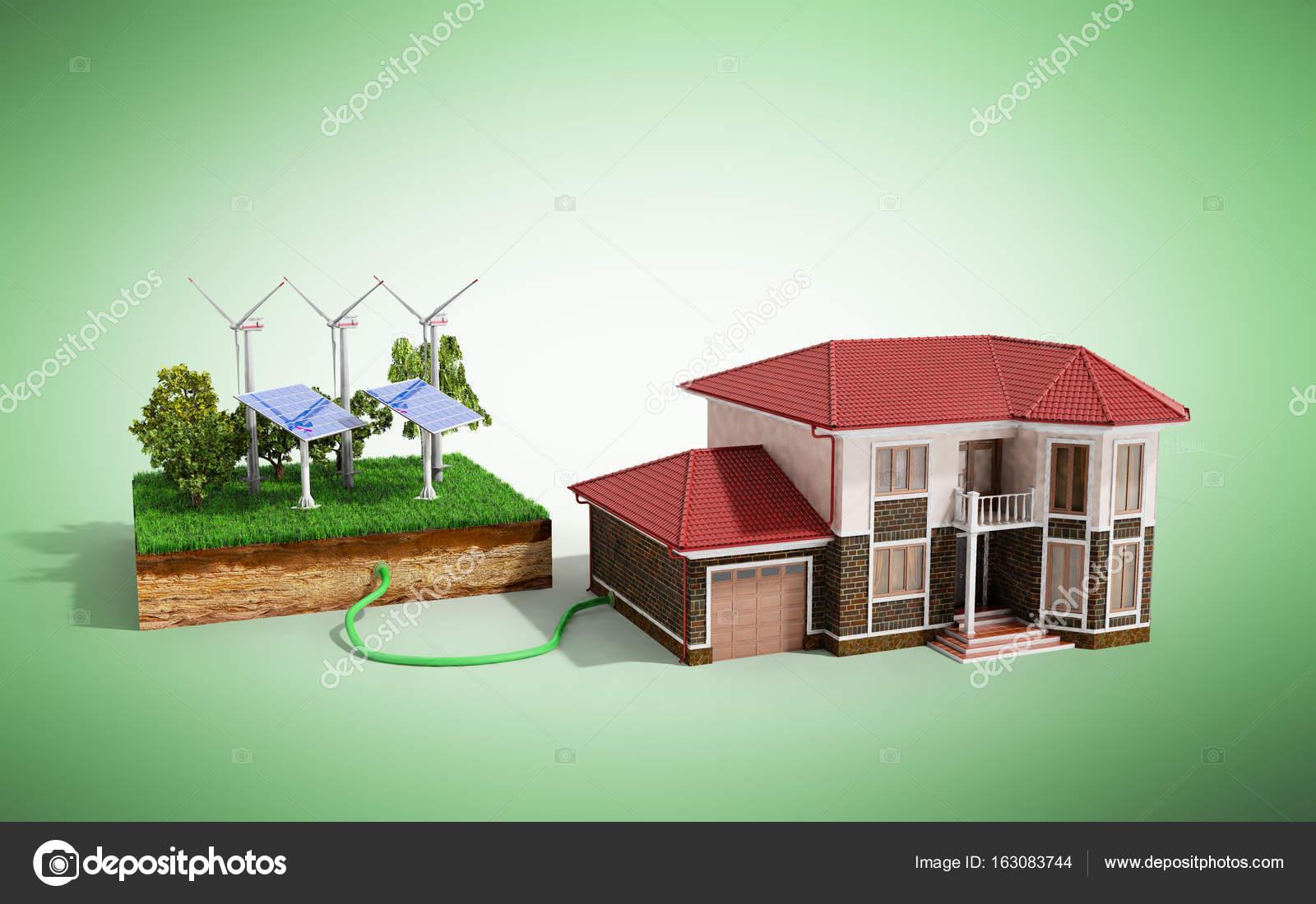 Připojte solární panel k domu