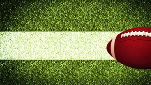 American football helmet Super Bowl Game On Field Stadium green grass Background