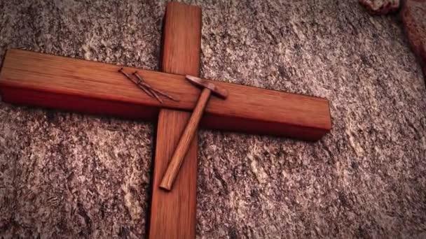 Jézus feltámadt töviskorona Kálvária domb Krisztus keresztre feszítették Húsvét Golgotakő kenet Jézus Sír