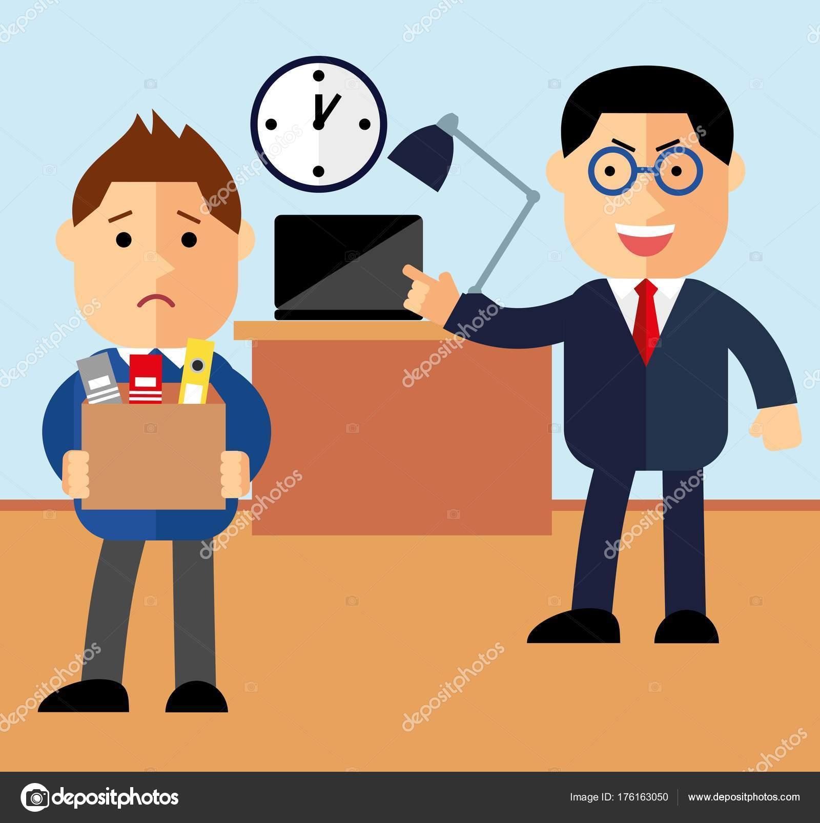 Licenziamento Matrimonio Lavoratore Uomo : Licenziamento concetto lavoratore licenziato boss