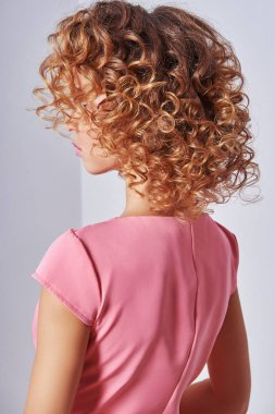 Healthy Blond Wavy hair
